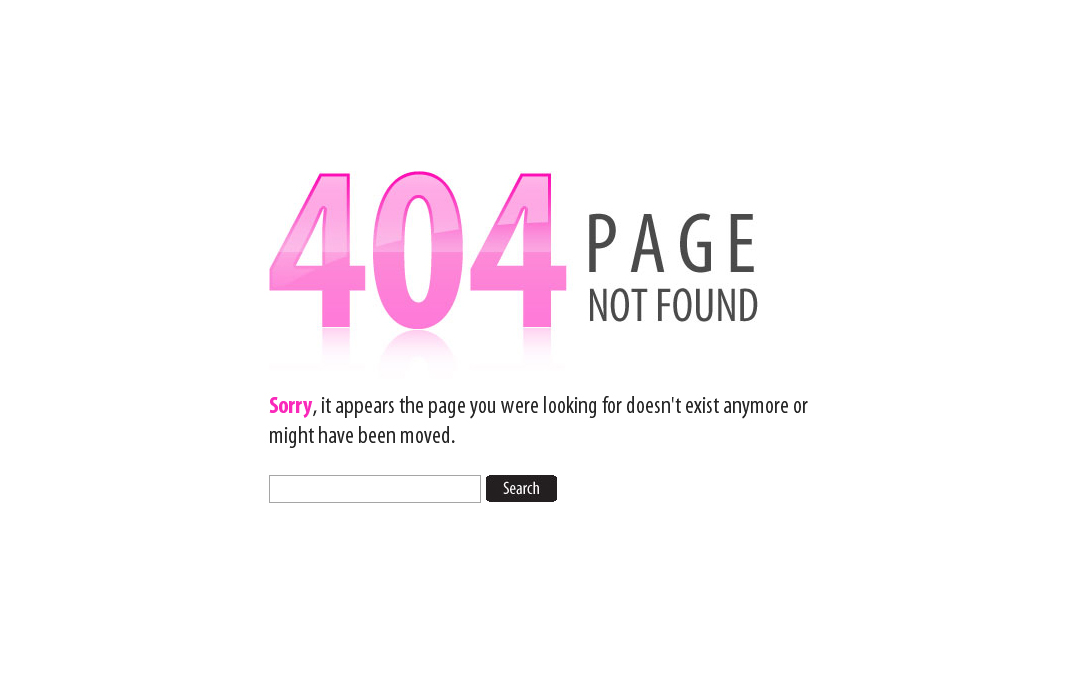 Smart 404 Page