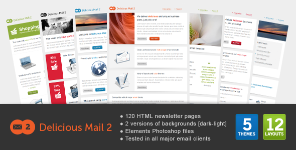 ThemeForest Delicious Mail 2 1226242
