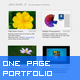 One Page Portfolio With Browser Scroll Support - ActiveDen Item for Sale
