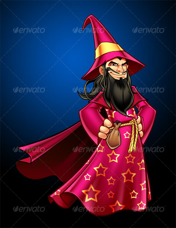 Wizard - Characters Illustrations