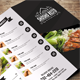 Restaurant Food Menu-Graphicriver中文最全的素材分享平台