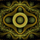 Yellow and Brown Fractal Background - GraphicRiver Item for Sale