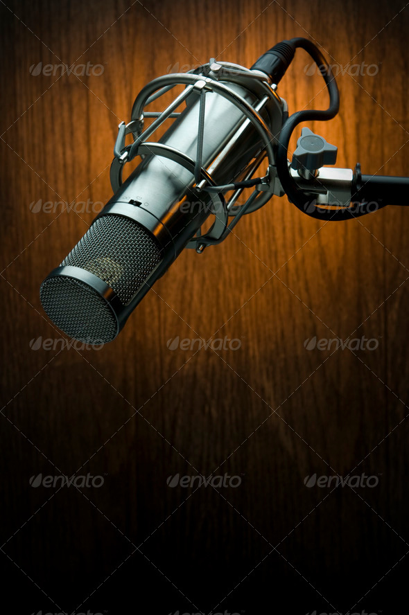 Stock Photo - PhotoDune Studio Microphone 1447932