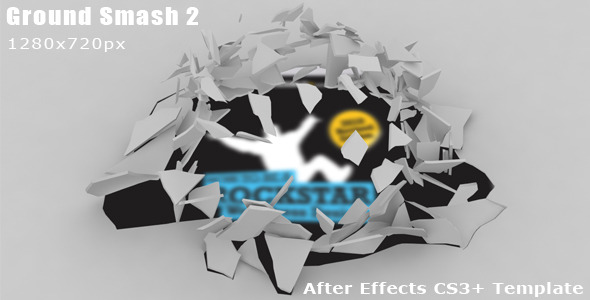 After Effects Project - VideoHive Ground Smash Opener 2 1447780