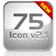 Icon - button set v2.1 CMS light - ActiveDen Item for Sale