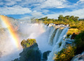 Iguazu falls, one of the new seven wonders of nature. Argentina. - PhotoDune Item for Sale