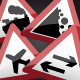 UK Road Signs: Warnings 2 - GraphicRiver Item for Sale