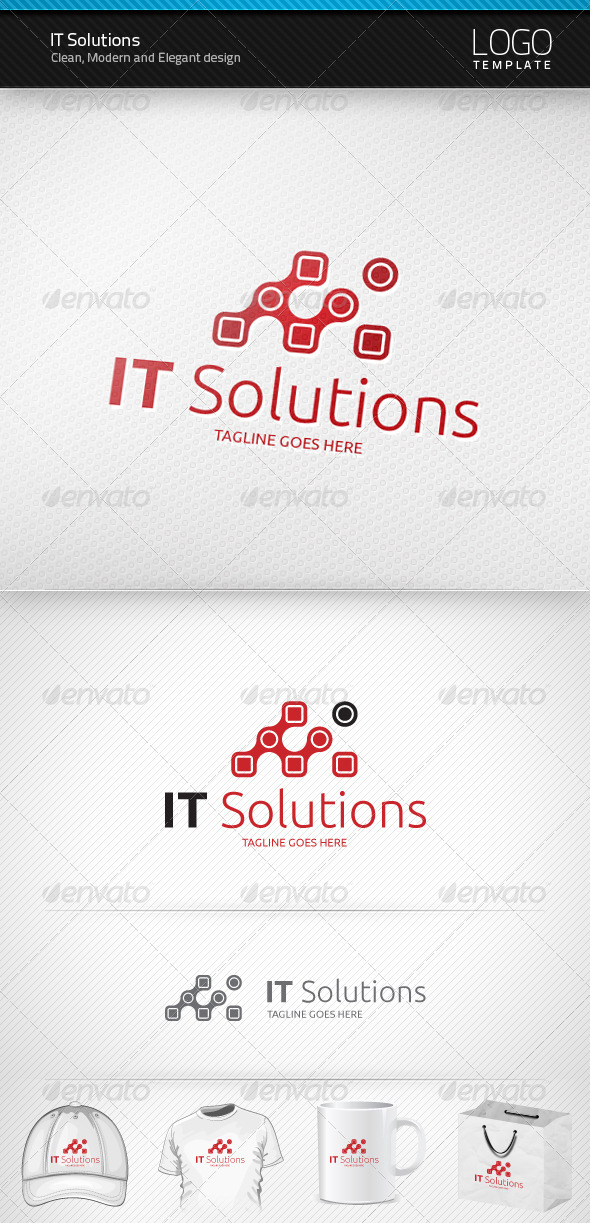 IT Solutions Logo - Symbols Logo Templates