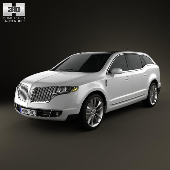 3DOcean Lincoln MKT 2012 1454572