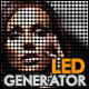 LED Dot Screen Effect Generator - GraphicRiver Item for Sale