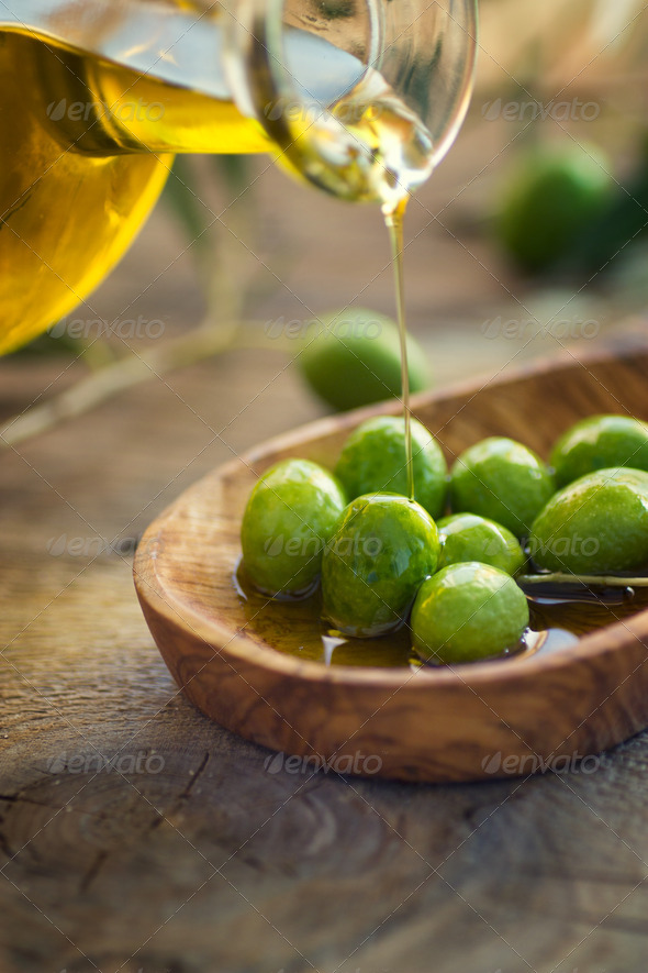 Olive oil - Stock Photo - Images