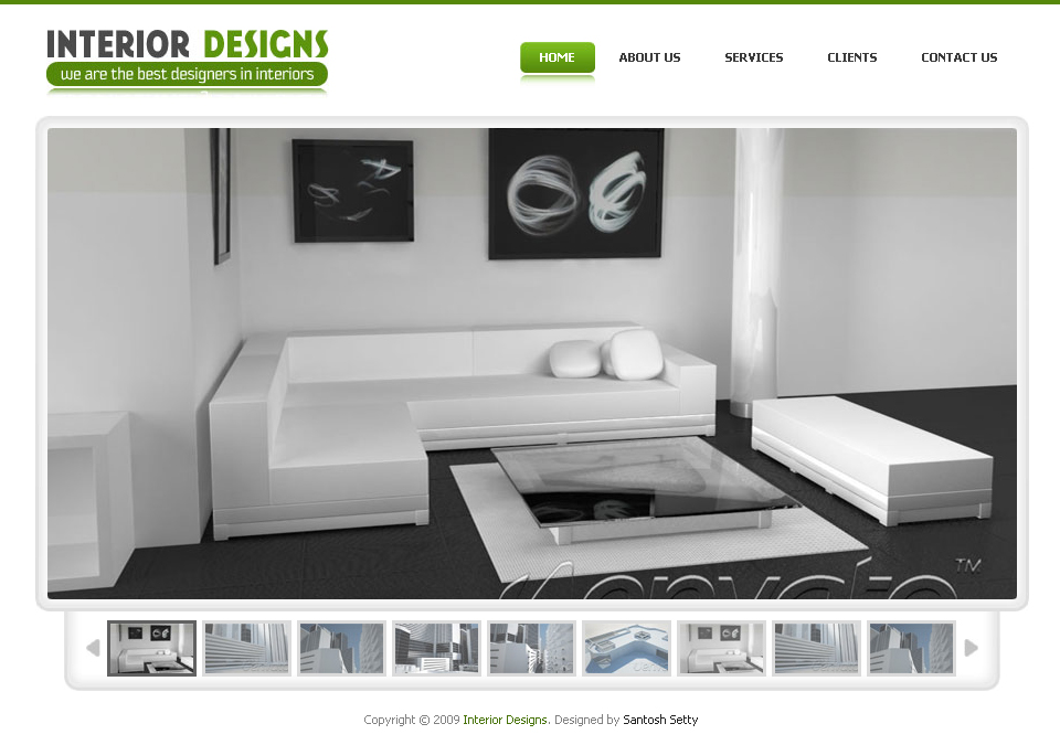 Interior Designs - Simple Pro Elegant Template