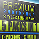 Photoshop Styles BUNDLE #1 - GraphicRiver Item for Sale