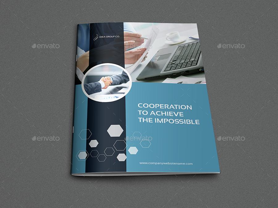Business Brochure Design   Corporate Brochure Template