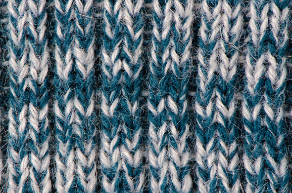 Knit woolen texture - Stock Photo - Images