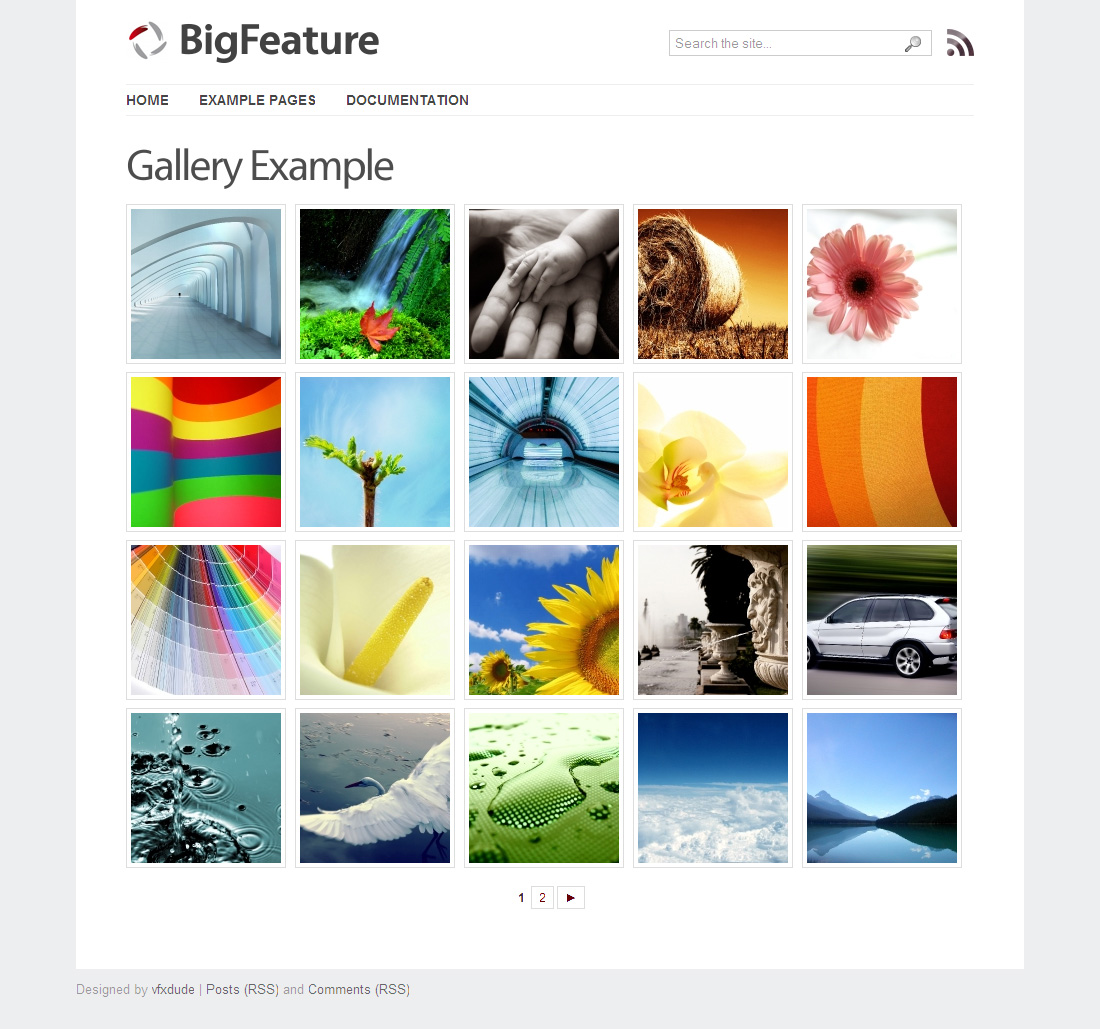 BigFeature - Wordpress Theme