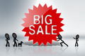 Big Sale Sign - PhotoDune Item for Sale