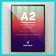 A2 Elegant Poster Frame Mock-Ups-Graphicriver中文最全的素材分享平台