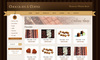 Download website template Chocolate & Coffee - HTML Template including PSD