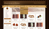 Download website template Chocolate Coffee & Cupcakes - HTML
