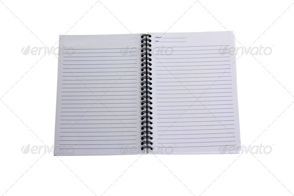 White books are open - Stock Photo - Images