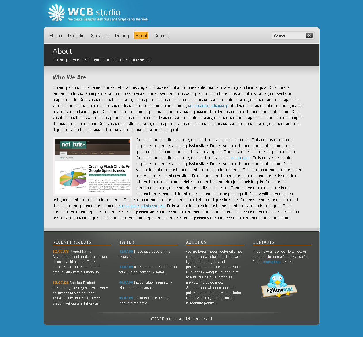 WCB - Business & Portfolio Theme