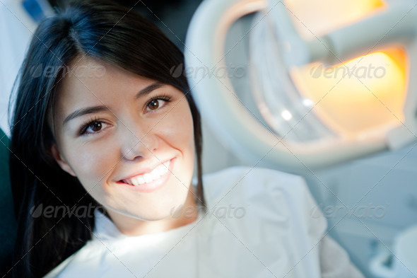 PhotoDune Woman at the dentist 1471780