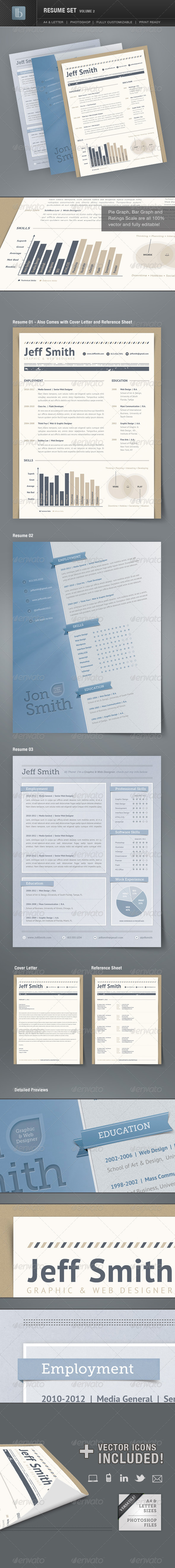 Resume Set | Volume 2 - Resumes Stationery