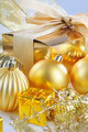 Gold Christmas Decorations - PhotoDune Item for Sale
