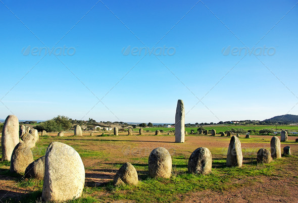 Cromlech of Xerez - Stock Photo - Images