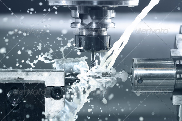 cnc machine - Stock Photo - Images