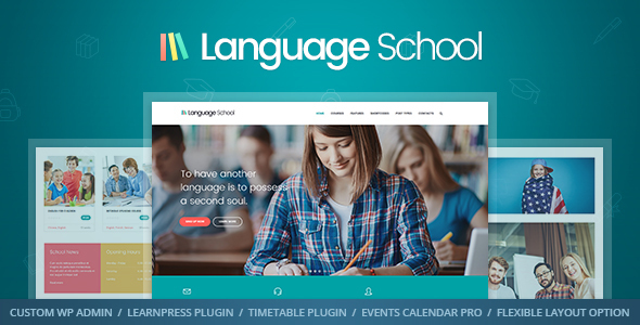 Language School - Courses & Learning Management System Education ...