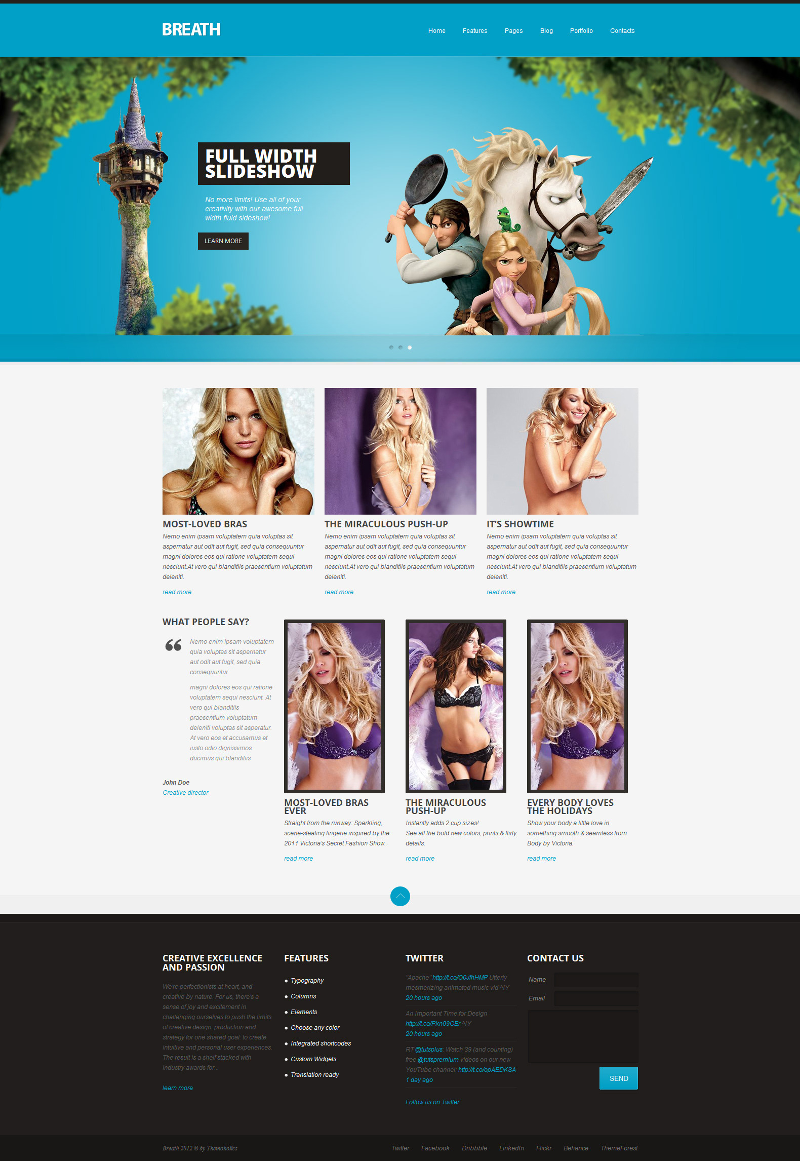 Breath - WordPress Theme