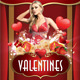 Sensual Valentines (Flyer Template 4x6) - GraphicRiver Item for Sale