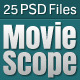 MovieScope PSD Template - ThemeForest Item for Sale