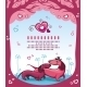 Dachshunds love - Valentine  - GraphicRiver Item for Sale
