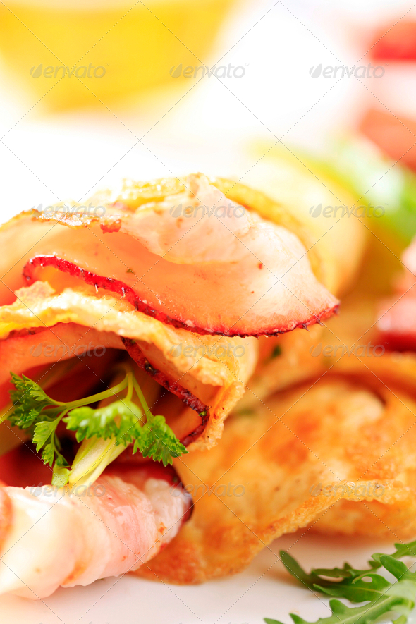 Cooked breakfast - Stock Photo - Images