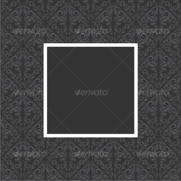 GraphicRiver Floral frame 59000