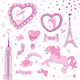 Valentine Doodle Set - GraphicRiver Item for Sale