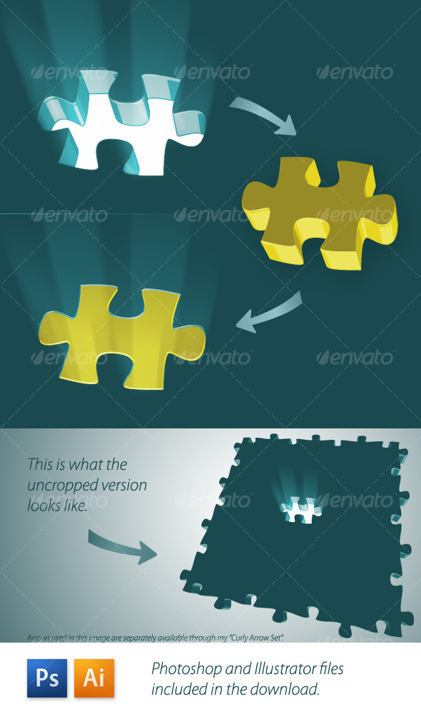 Missing Piece - Business Illustrations