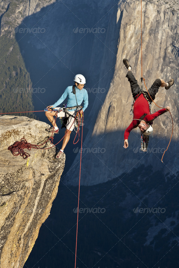 End of your rope. - Stock Photo - Images