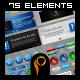 Mega Web 2.0 Elements-Graphicriver中文最全的素材分享平台