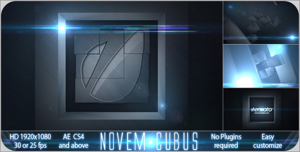 After Effects Project - VideoHive Novem Cubus 1500820