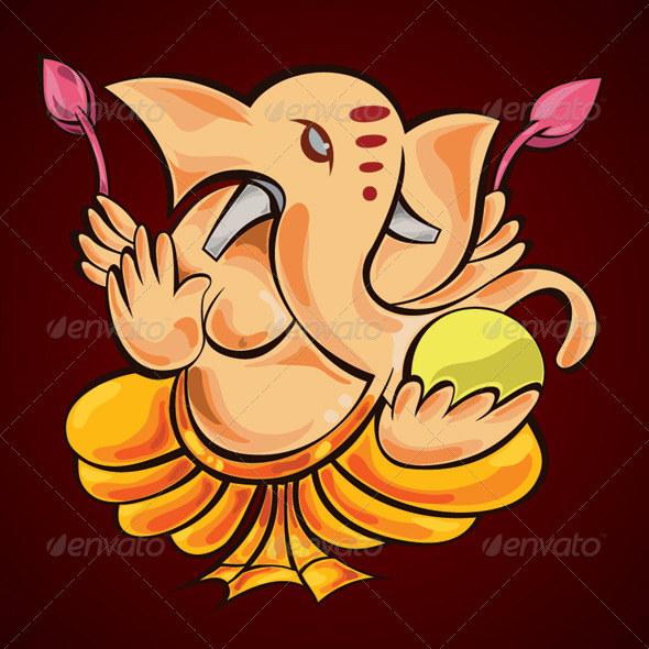 GraphicRiver Lord Ganesha 1500921