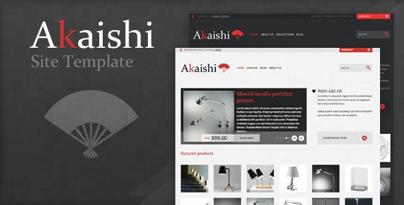 ThemeForest Akaishi Html 1501335