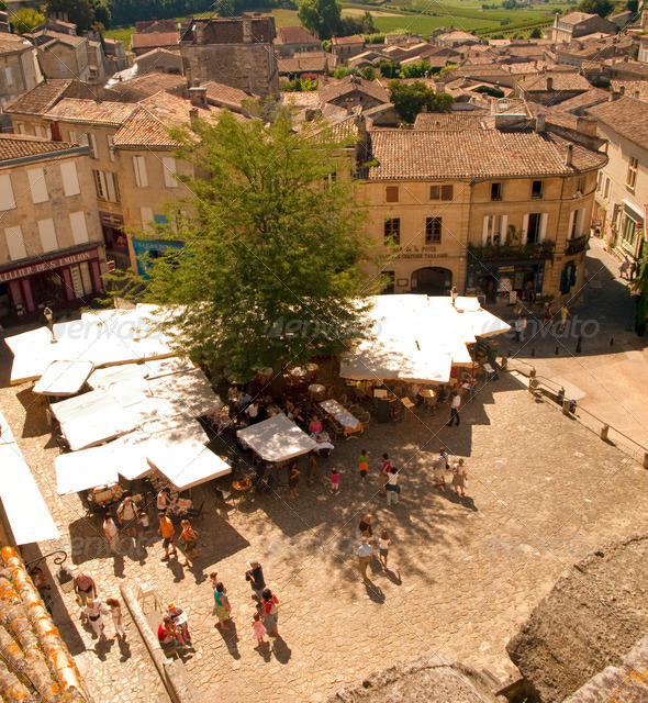 France - St Emilion - Stock Photo - Images