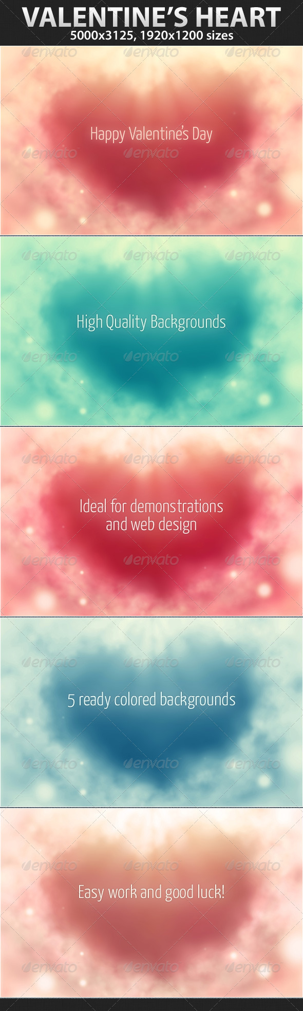 Valentines heart - Backgrounds Graphics