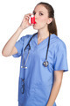 Asthma Inhaler Nurse - PhotoDune Item for Sale