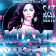 Miami Nights Flyer and Mixtape - GraphicRiver Item for Sale