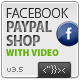 Facebook Paypal Shop Template - ActiveDen Item for Sale